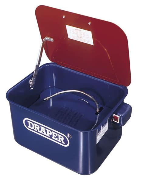 bench parts washer draper 230v bench mounted parts washer sibbons
