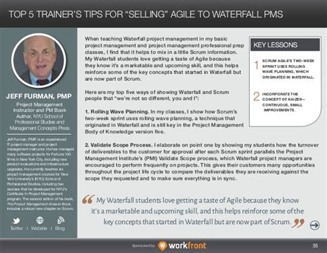 Margaret Meloni Mba Pmp by Waterfall To Agile