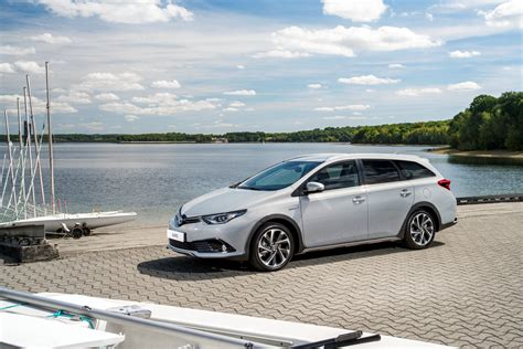 toyota an 2018 toyota auris touring sports freestyle is a wagon with
