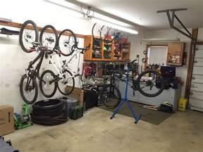 bike storage at home garage shed ideas ridemonkey forums
