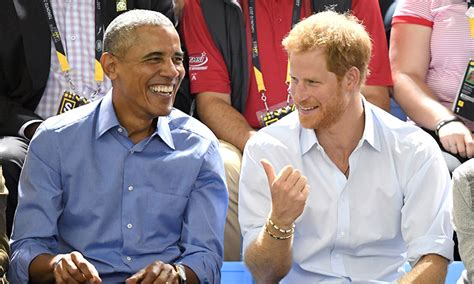 prince harry s girl friend barack obama asks prince harry about his girlfriend meghan