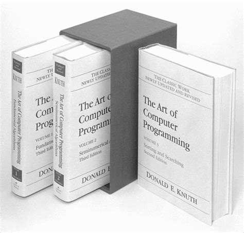 art of computer programming knuth the art of computer programming wikipedija