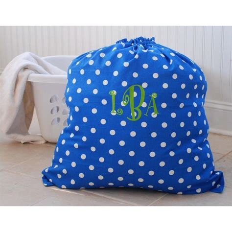 Cleaning Monogrammed Laundry Bag Monogrammed Laundry