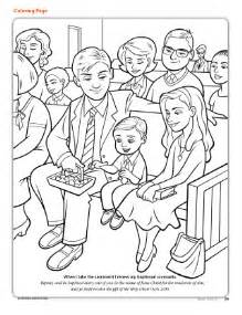 coloring page jesus lds coloring page friend may 2012 39 friend