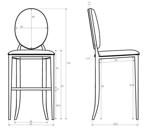 hauteur de bar cuisine hauteur chaise de bar cuisine en image
