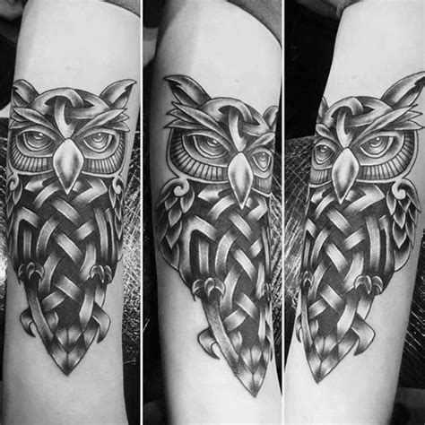43 nice celtic owl tattoo designs and ideas golfian com wonderful idea of celtic owl tattoos golfian com