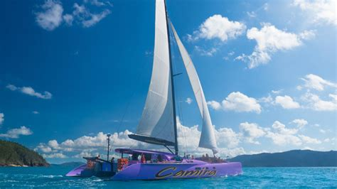 camira catamaran airlie beach camira sailing adventure whitehaven beach full day