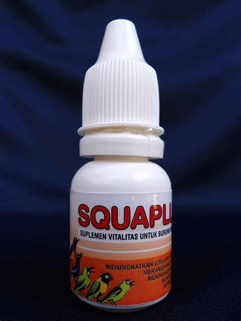 manfaat squalene minyak hati ikan hiu untuk burung jawara indoversa