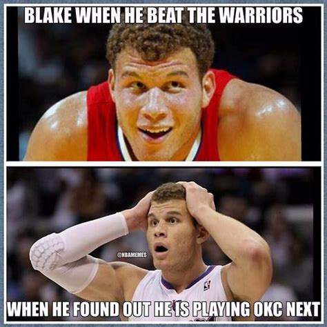 Funny Clippers Memes - 16 best images about okc thunder on pinterest