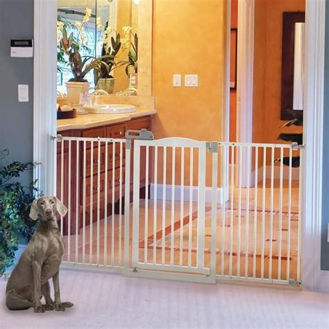 wide dog gates for the house 78 images about indoor dog gates on pinterest safety gates extra wide pet gate and