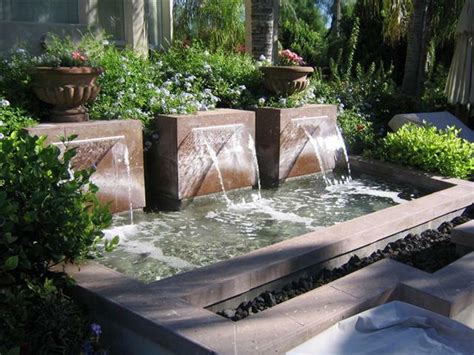 small backyard water feature ideas arizona outdoor living at its best