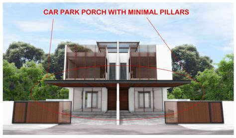 car porch good design car porch with few pillars feng shui at