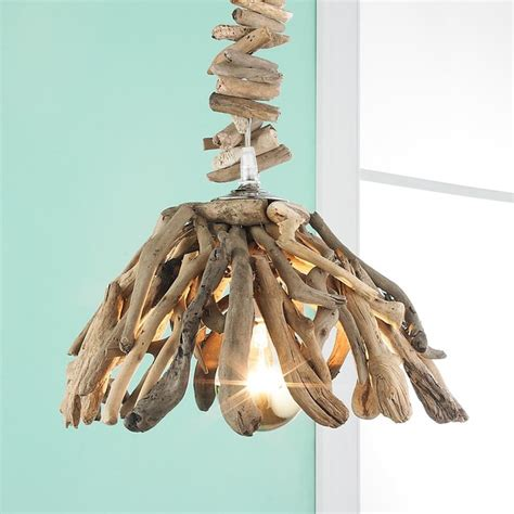 Driftwood Pendant Light Reclaimed Driftwood Pendant Light Pendant Lighting By Shades Of Light