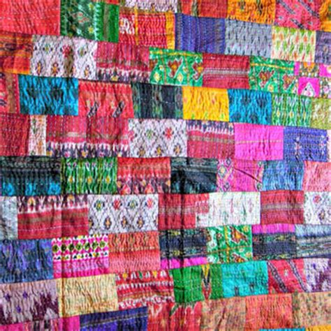 Indian Patchwork Quilts - shop indian patchwork quilts on wanelo