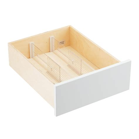 desk drawer dividers adjustable 4 quot expandable drawer dividers the container store