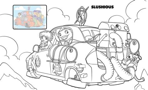 home dreamworks colouring pages