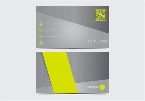 stylish business cards templates free stylish business card template free vector