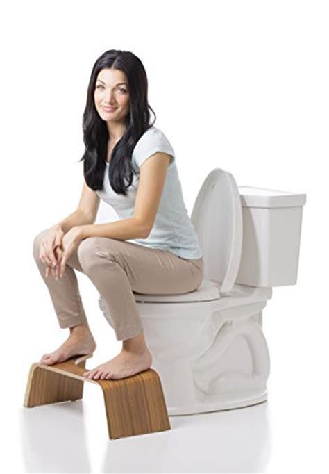 Squatty Potty Teak Slim 7 Inch Toilet Stool by Squatty Potty Slim With Teak Finish Toilet Stool 9 Inches