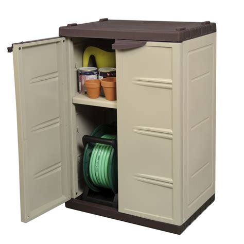 Outdoor Tool Storage Cabinets by Palm Springs Garden Plastic Storage 95cm Lockable Compact