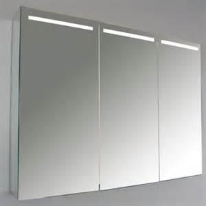 armoire salle de bain tryptique