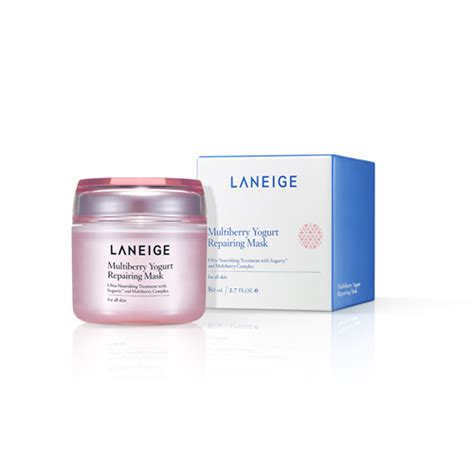 Laneige Multiberry Yogurt skincare multiberry yogurt repairing mask laneige ca