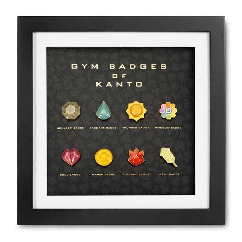 kanto premium  badge set boulder cascade rainbow