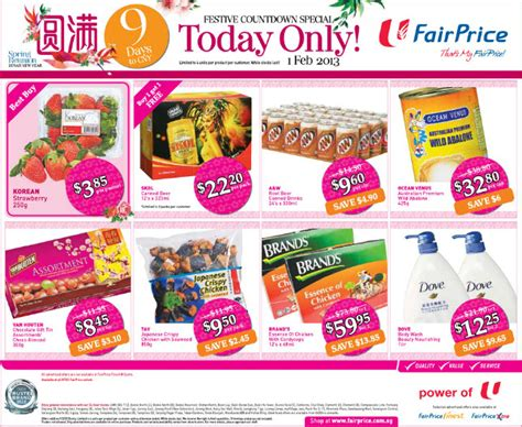 ntuc new year promotion fairprice new year supermarket promotions week 5