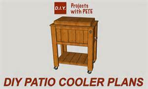 patio cooler plans diy pete simple wine rack plans