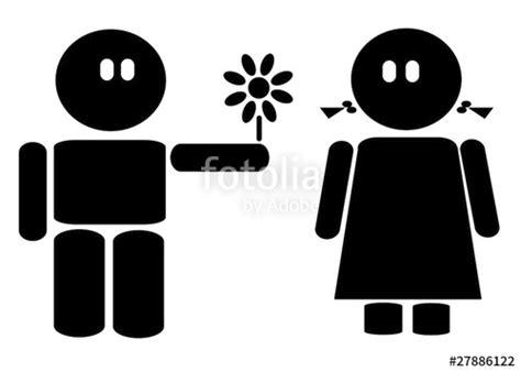 regalare un fiore quot coppia stilizzata regalare un fiore quot immagini e