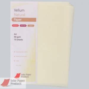 printable vellum paper uk vellum paper cream a4 90gsm soho paper