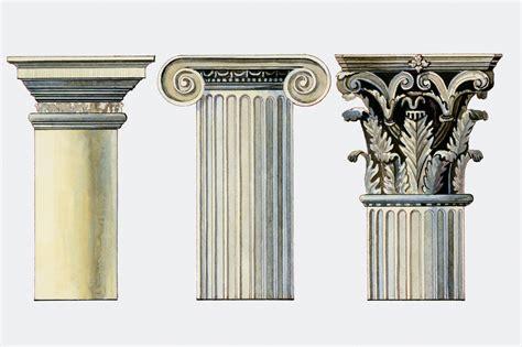popular column types  greek  postmodern