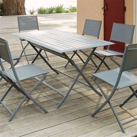 tavolo da giardino pieghevole tavolo da giardino pieghevole alluminio azua 150 x 80 cm