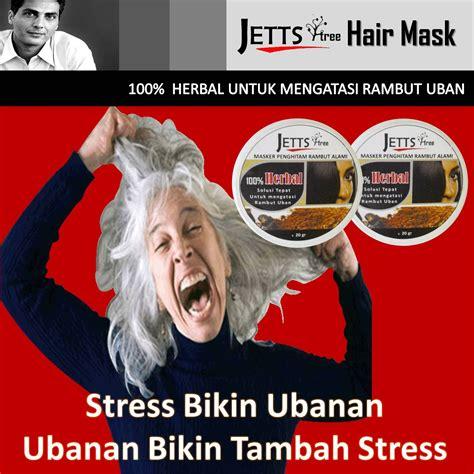 Jettstree Hair Mask herbal rambut uban rambut uban gatal