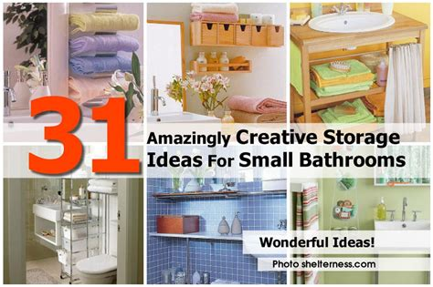 creative storage ideas 31 amazingly creative storage ideas for small bathrooms