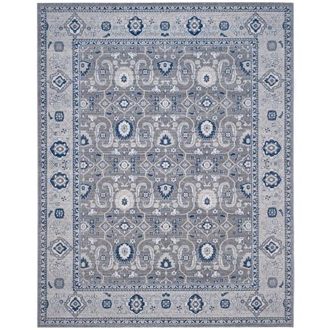 Silver Gray Area Rugs Safavieh Artisan Grey Silver 8 Ft X 10 Ft Area Rug Atn322b 8 The Home Depot