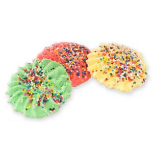 colored cookies 1lb colored butter cookies bova s bakery bova s bakery
