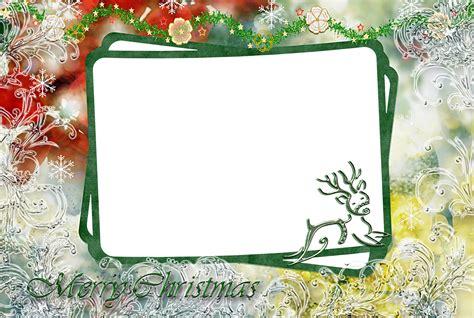 christmas frame psd template images christmas