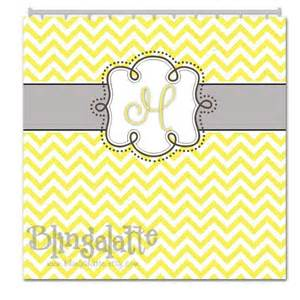 Yellow and gray chevron personalized shower curtain custom shower cu