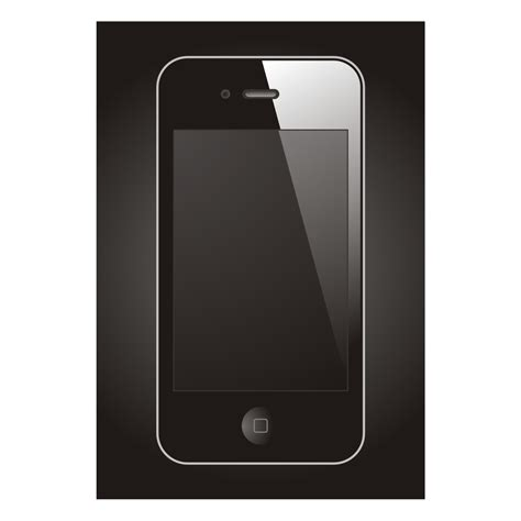 mobile with vector for free use mobile device