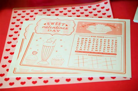 valentines placemats 5 best images of printable s day placemats