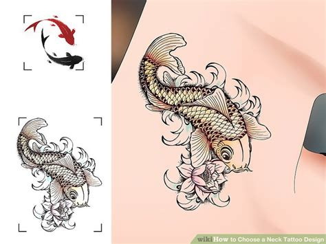 how to choose a tattoo design how to choose a neck design 13 steps with pictures