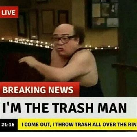 Garbage Meme - the trashman ithrowtrash twitter
