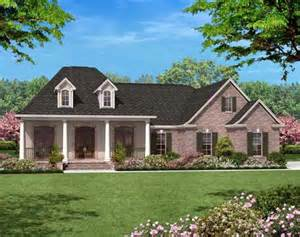 One Story Country Style House Plans by Country Style House Plans 1600 Square Foot Home 1