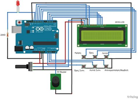 tutorial beatbox techno alarm arduino alarm clock circuit diagram circuit and