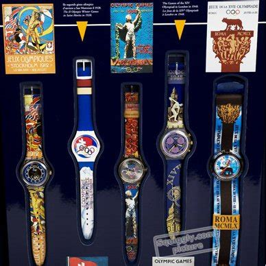 Swatch Free Box swatch box1pack box historic olympic 9 watches