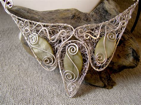 Handmade Jewellry Uk - handmade jewellery wire moon