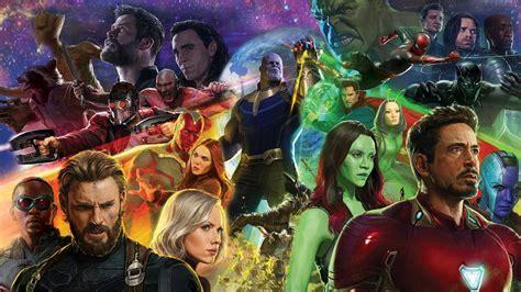 film marvel berurutan avengers infinity war wallpaper hdwallpaperfx