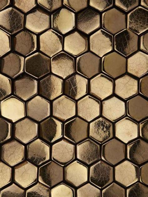 gold hexagon pattern perfect patterns gold pinterest metallic texts and
