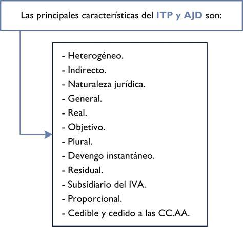 impuesto sobre transmisiones patrimoniales y actos itp y ajd aproximaci 243 n al concepto