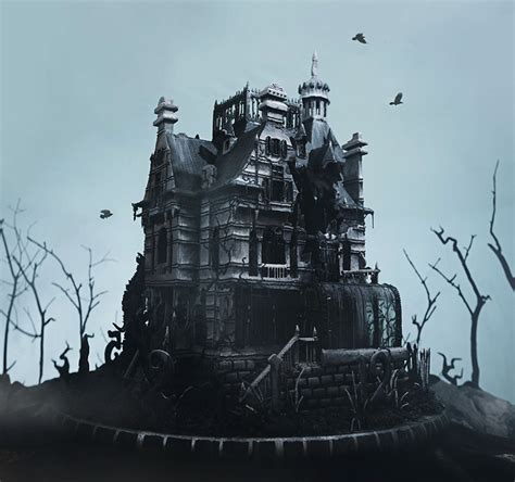 tim house artist creates edible gingerbread house replica from the newest tim burton s movie